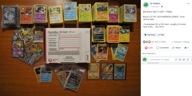 Pokemon Cards Got Lots (test only)